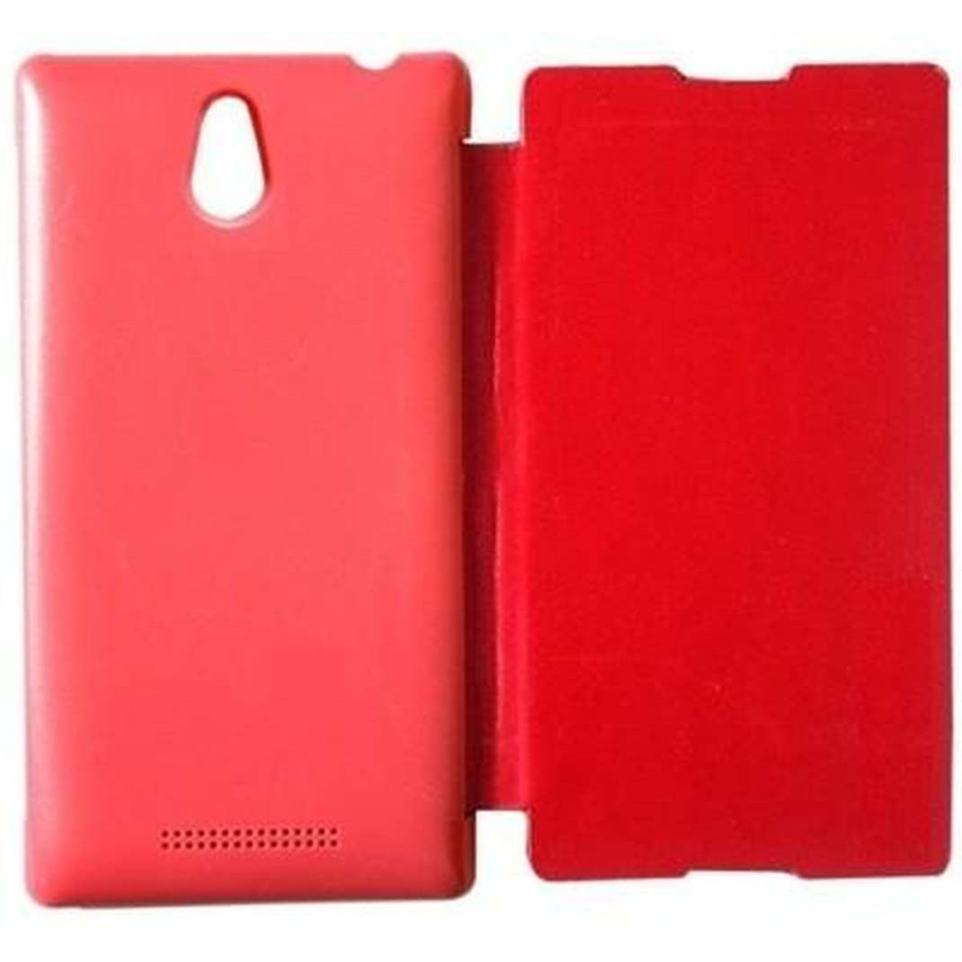 the latest d9972 35f15 Flip Cover for Sony Xperia E1 - Red