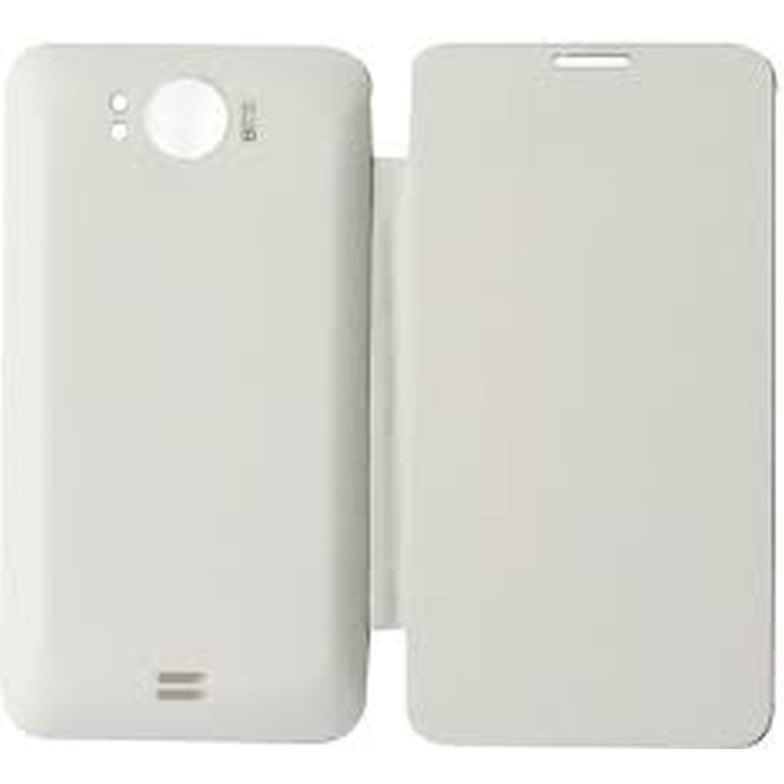 new concept 79d1a 019fe Flip Cover for Micromax A111 Canvas Doodle - White