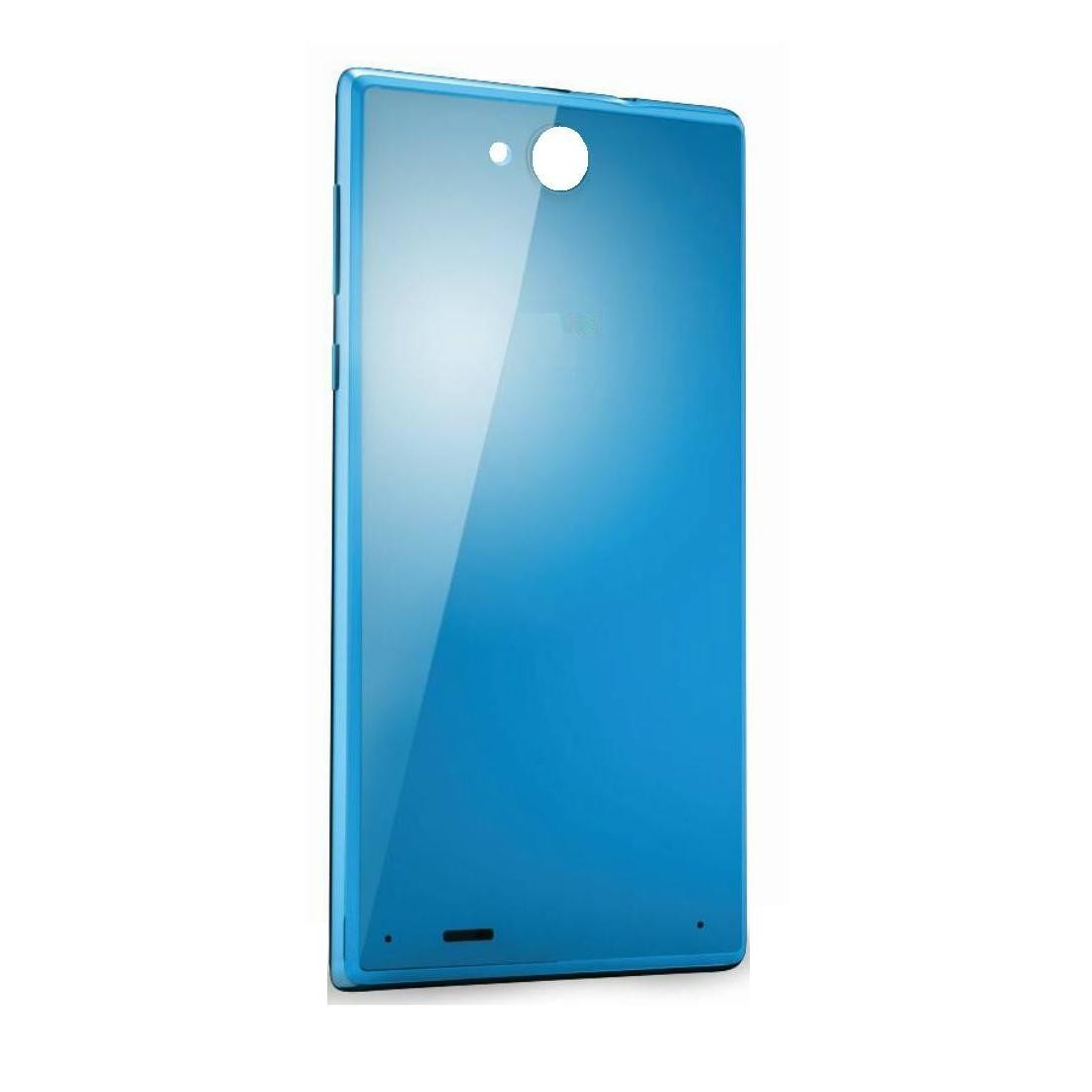 best service 0a675 463f5 Back Panel Cover for XOLO Prime - Blue