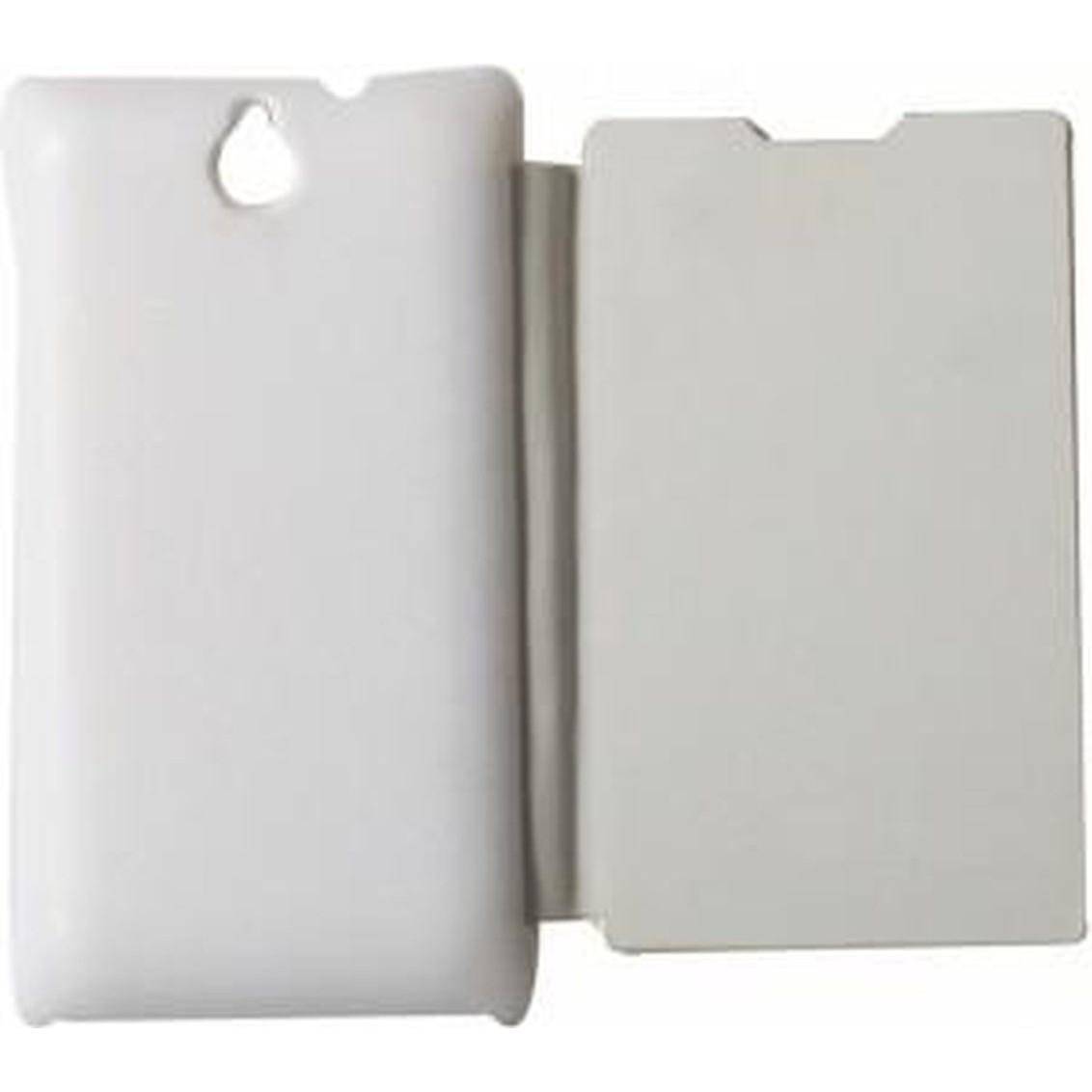 on sale 08765 dc020 Flip Cover for Sony Xperia E1 - White