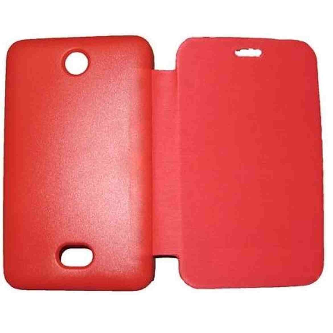 online store 0f44a af1aa Flip Cover for Nokia Asha 501 - Red