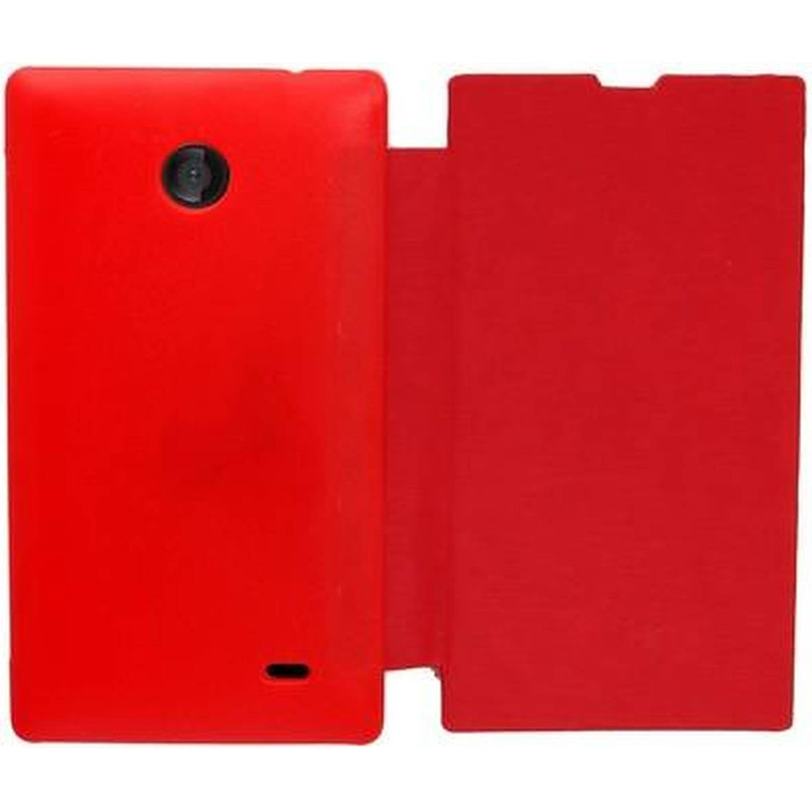 huge selection of 7d655 c4e68 Flip Cover for Nokia X Dual SIM RM-980 - Red