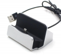 Mobile Holder For Apple iPhone 5S Dock Type White
