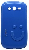 Smiley Back Case for Samsung Galaxy Grand Neo Plus GT-I9060I Sky Blue