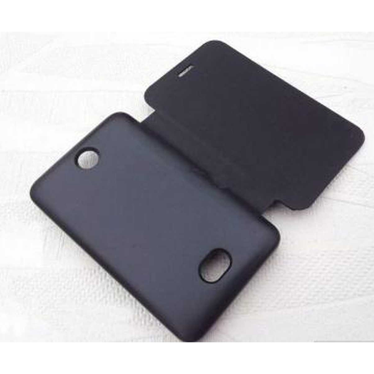 sports shoes 3eccf 72b91 Flip Cover for Nokia Asha 501 - Black