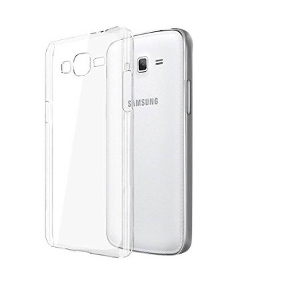 hot sale online 738b8 39972 Transparent Back Case for Samsung Galaxy Core Prime 4G
