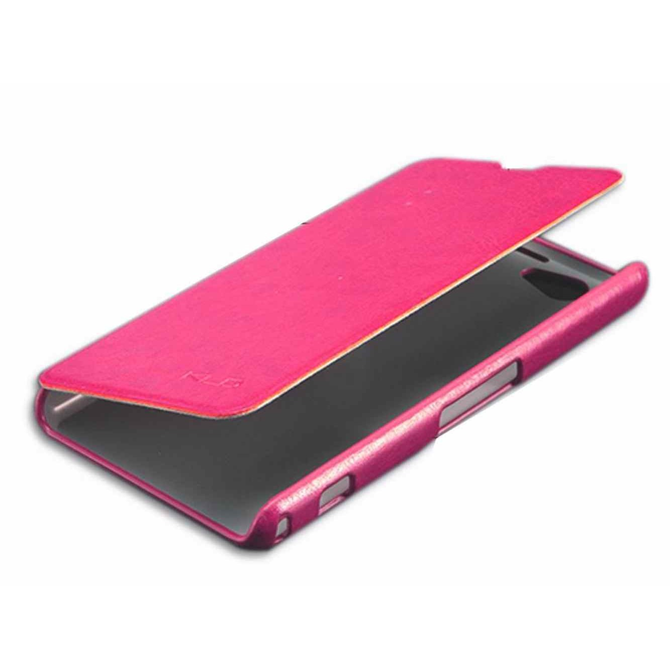Flip Cover For Sony Xperia Z1 Compact Pink By