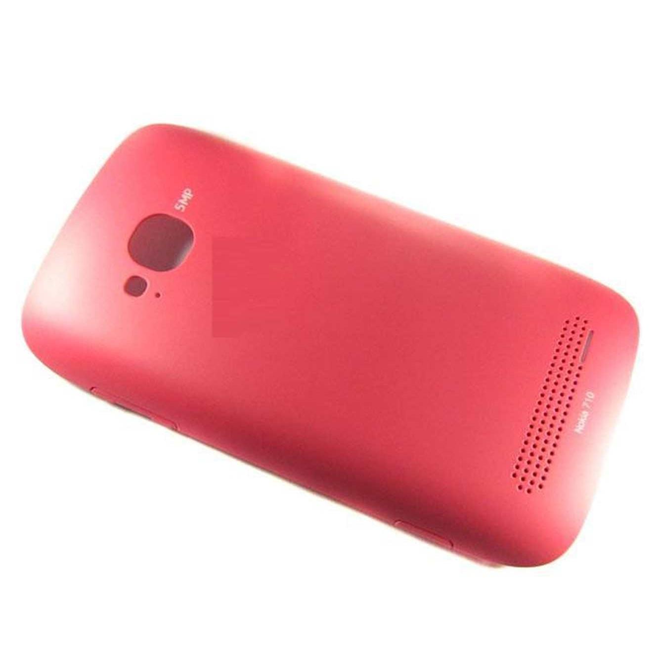 newest e851e 263e0 Back Cover For Nokia Lumia 710 - Red