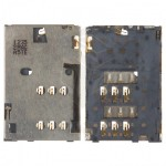SIM Card Connector for Nokia Asha 202