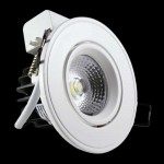 5 Watt LED Laura Round COB Down Light - 90 mm, White