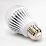 7 Watt LED Bulb - 220 Volt AC - 60 mm, White