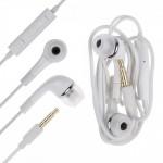 Earphone for Zync Z909 Plus - Handsfree, In-Ear Headphone, White