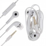 Earphone for Yu Yureka Plus - Handsfree, In-Ear Headphone, 3.5mm, White