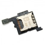 Sim Connector With Flex Cable For Samsung Galaxy Core I8260 I8262 - Maxbhi Com