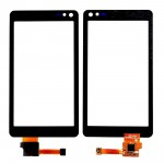 Touch Screen Digitizer For Nokia N8 Black By - Maxbhi Com