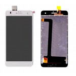 Lcd With Touch Screen For Lava Iris X5 White By - Maxbhi Com