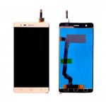 Lcd With Touch Screen For Lenovo K5 Note Gold By - Maxbhi Com