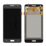 Lcd With Touch Screen For Samsung Galaxy Grand Prime Smg530h Grey By - Maxbhi Com