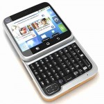 LCD with Touch Screen for Motorola FlipOut ME511 - White