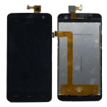 Lcd With Touch Screen For Micromax A106 Unite 2 Black By - Maxbhi Com