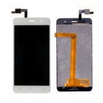 Lcd With Touch Screen For Lava Iris X8 White By - Maxbhi Com