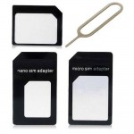 Sim Adapter For Apple iPad 2 Micro Sim with Ejector Pin