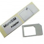 Sim Adapter For Apple iPad Micro Sim to Regular Sim 10 Pieces