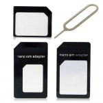 Sim Adapter For Apple iPhone Nano With Ejector Pin