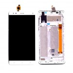 Lcd With Touch Screen For Lava V5 Black By - Maxbhi Com