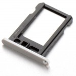 SIM Card Holder Tray for InFocus M535 - Silver - Maxbhi.com