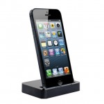 Mobile Holder For Apple iPhone 5S Dock Type Black
