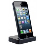 Mobile Stand For Apple iPhone 5, 5G Dock Type Black