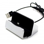Mobile Holder For Apple Iphone 5 Dock Type White - Maxbhi Com