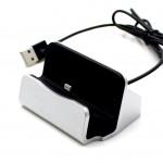 Mobile Holder For Apple Iphone 5 Dock Type White - Maxbhi Com