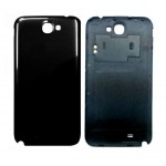 Back Panel Cover For Samsung Galaxy Note Ii N7100 Black - Maxbhi Com