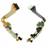 Charging Connector Flex Cable For Apple iPhone 4, 4G White