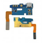 Charging Connector Flex Cable For Samsung Galaxy Note 2 N7100 With Mic - Maxbhi Com