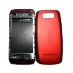 Full Body Housing For Nokia Asha 305 Red - Maxbhi.com