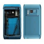 Full Body Housing For Nokia N8 Blue - Maxbhi.com