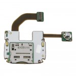 Keypad Flex Cable For Nokia N73 with Memory Card Connector