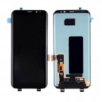 Lcd With Touch Screen For Samsung Galaxy S8 Silver By - Maxbhi Com
