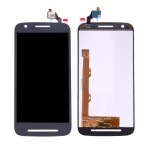 Lcd With Touch Screen For Motorola Moto E3 Power Black By - Maxbhi Com