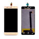 Lcd With Touch Screen For Intex Aqua Shine 4g Champagne By - Maxbhi Com