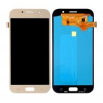Lcd With Touch Screen For Samsung Galaxy A7 2017 Gold By - Maxbhi Com