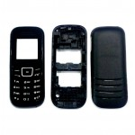 Full Body Housing For Samsung E1200 Pusha Black - Maxbhi.com