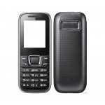 Full Body Housing For Samsung E1232b Black - Maxbhi Com