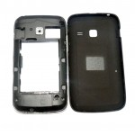 Full Body Housing For Samsung Galaxy Y Duos S6102 Black - Maxbhi Com