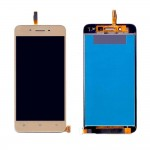 Lcd With Touch Screen For Vivo Y53 Gold By - Maxbhi Com