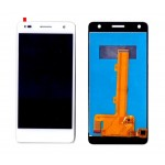Lcd With Touch Screen For Itel It1518 White By - Maxbhi Com