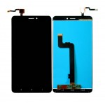 Lcd With Touch Screen For Xiaomi Mi Max 2 Black By - Maxbhi Com